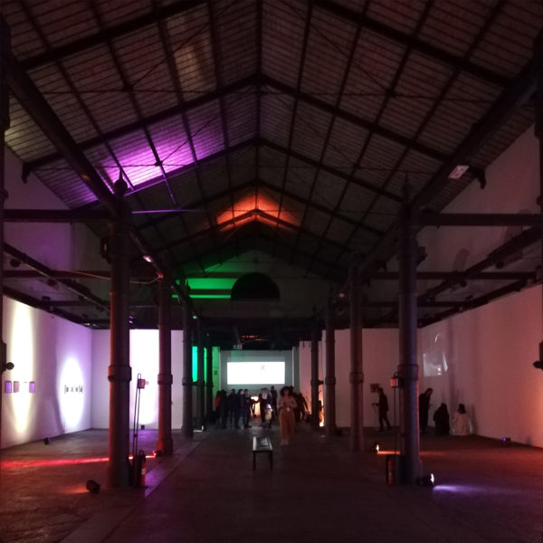 Inside exhibition